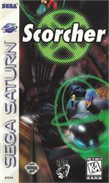 Box cover for Scorcher on the Sega Saturn.