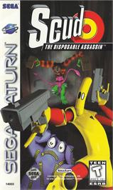 Box cover for Scud: The Disposable Assassin on the Sega Saturn.