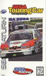 Box cover for Sega Touring Car Championship on the Sega Saturn.
