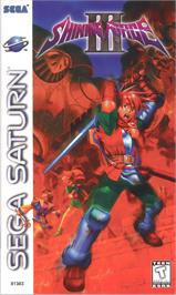 Box cover for Shining Force III: Scenario 2 -