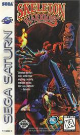 Box cover for Skeleton Warriors on the Sega Saturn.
