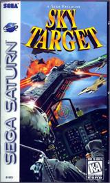 Box cover for Sky Target on the Sega Saturn.