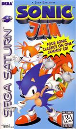 Box cover for Sonic Jam on the Sega Saturn.