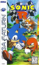 Box cover for Sonic R on the Sega Saturn.