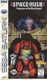 Box cover for Space Hulk: Vengeance of the Blood Angels on the Sega Saturn.