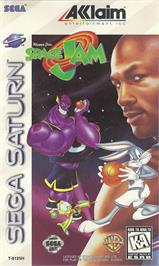 Box cover for Space Jam on the Sega Saturn.