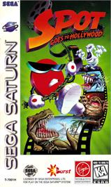Box cover for Spot Goes to Hollywood on the Sega Saturn.