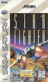 Box cover for Star Fighter 3000 on the Sega Saturn.