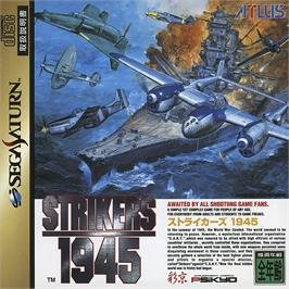 Box cover for Strikers 1945 on the Sega Saturn.