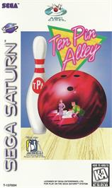 Box cover for Ten Pin Alley on the Sega Saturn.