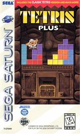 Box cover for Tetris Plus on the Sega Saturn.