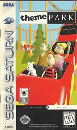 Box cover for Theme Park on the Sega Saturn.