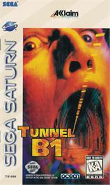 Box cover for Tunnel B1 on the Sega Saturn.