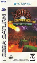 Box cover for Valora Valley Golf on the Sega Saturn.