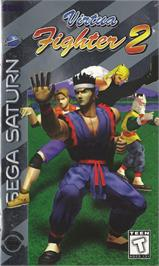 Box cover for Virtua Fighter 2 on the Sega Saturn.