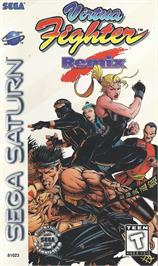 Box cover for Virtua Fighter Remix on the Sega Saturn.