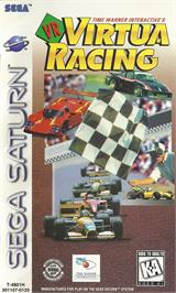 Box cover for Virtua Racing on the Sega Saturn.