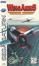 Box cover for Wing Arms on the Sega Saturn.