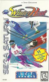 Box cover for Winter Heat on the Sega Saturn.