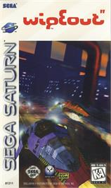 Box cover for Wipeout on the Sega Saturn.