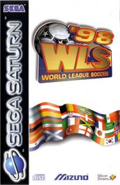 Box cover for World League Soccer '98 on the Sega Saturn.
