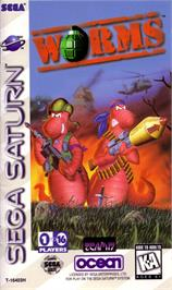 Box cover for Worms on the Sega Saturn.