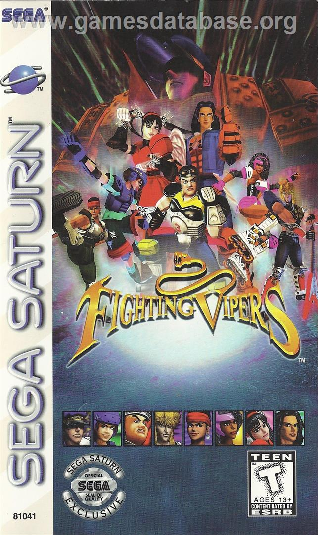 Fighting Vipers - Sega Saturn - Artwork - Box
