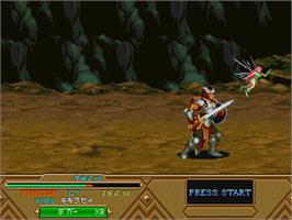 In game image of Dungeons & Dragons Collection on the Sega Saturn.