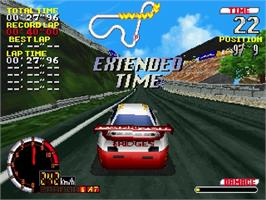 In game image of GT24 on the Sega Saturn.
