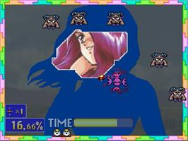 In game image of Gals Panic SS on the Sega Saturn.