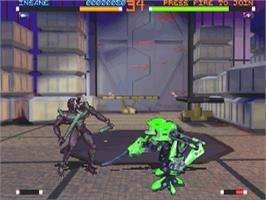 In game image of Resurrection: Rise 2 on the Sega Saturn.