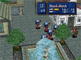 In game image of Shining Force III: Scenario 1 -