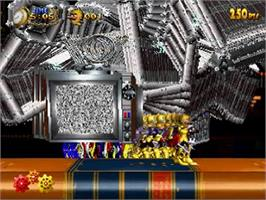 Title screen of Clockwork Knight 2 on the Sega Saturn.