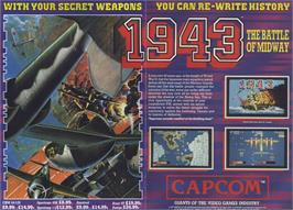 Advert for 1943 on the Sinclair ZX Spectrum.