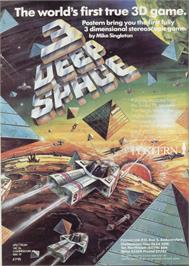 Advert for 3-Deep Space on the Sinclair ZX Spectrum.