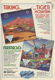 Advert for A.L.C.O.N. on the Sinclair ZX Spectrum.