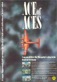 Advert for Ace of Aces on the Sinclair ZX Spectrum.