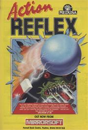 Advert for Action Reflex on the Sinclair ZX Spectrum.