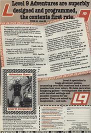 Advert for Adventure Quest on the Commodore 64.