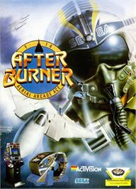 Advert for After Burner on the Sinclair ZX Spectrum.