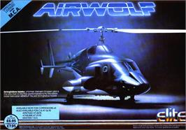 Advert for Airwolf on the Sinclair ZX Spectrum.