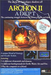 Advert for Archon II: Adept on the Sinclair ZX Spectrum.