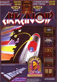 Advert for Arkanoid on the Sinclair ZX Spectrum.