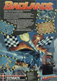 Advert for Badlands on the Sinclair ZX Spectrum.