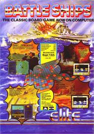 Advert for Battleship on the Commodore Amiga.