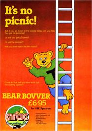 Advert for Bear Bovver on the Sinclair ZX Spectrum.