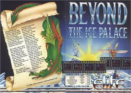 Advert for Beyond the Ice Palace on the Sinclair ZX Spectrum.