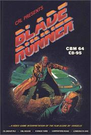 Advert for Blade Runner on the Sinclair ZX Spectrum.