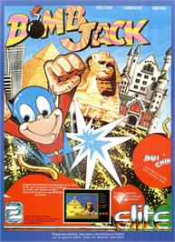 Advert for Bomb Jack on the Sinclair ZX Spectrum.