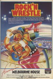 Advert for Bop'N Wrestle on the Sinclair ZX Spectrum.